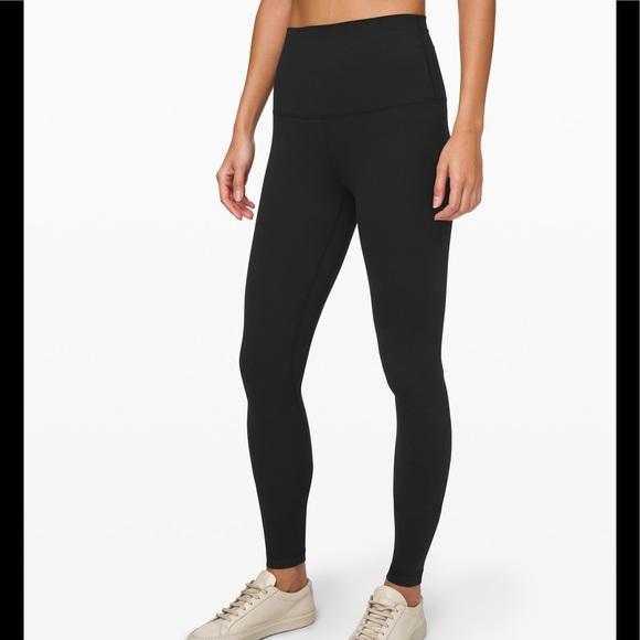 Lululemon high waisted black leggings